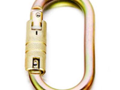 Karabiner Staal - Tri Lock